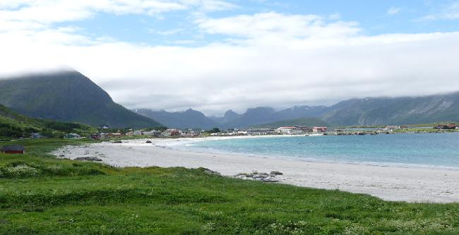 Sandstrand in Norwegen