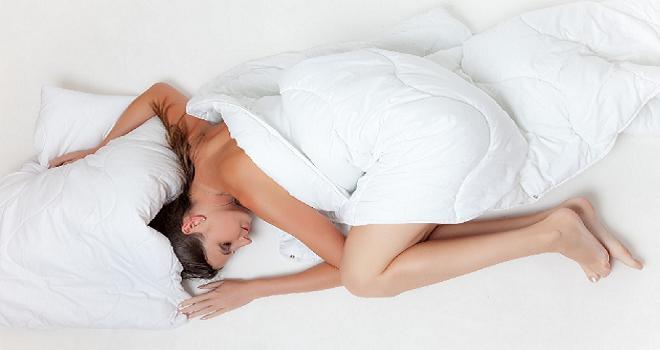schlafen im Hotelbett