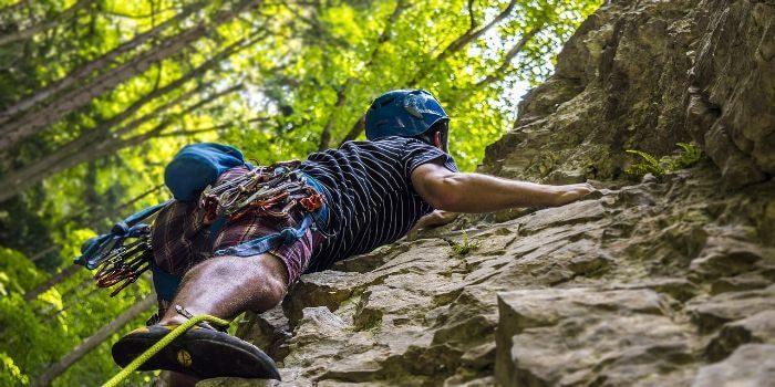 Warum in die Ferne schweifen – wenn das Kletterrevier gleich um die Ecke liegt