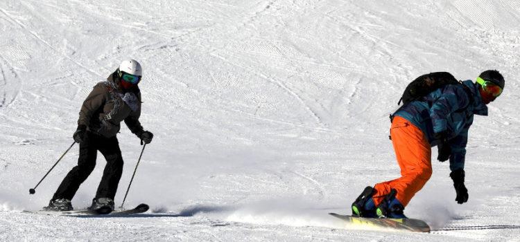Rücksichtsvolles Skifahren